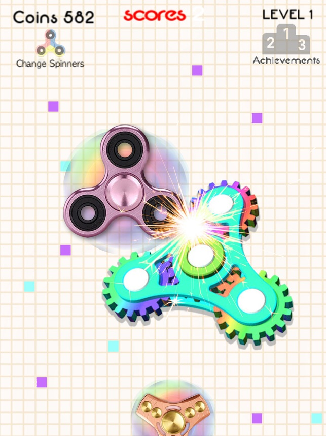 Fid spinner fight to kill time on the App Store