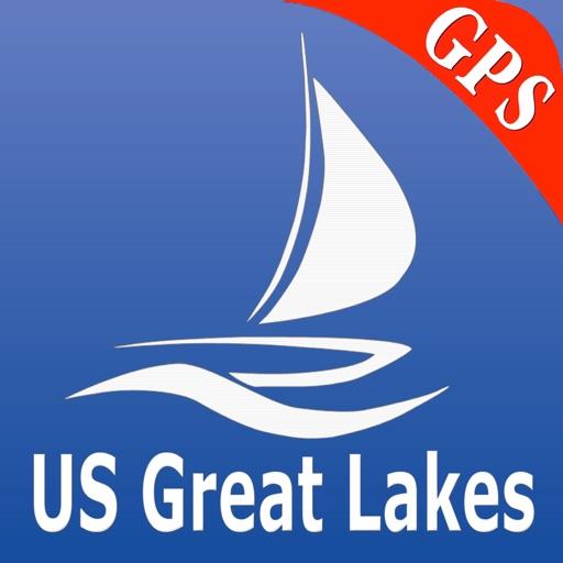 US Great Lakes GPS Nautical charts