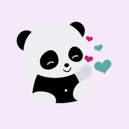 Panda Fun Sticker