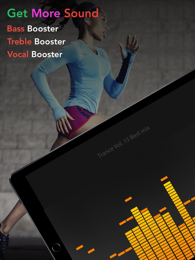 Equalizer + Volume Booster player&sound effects eq on the