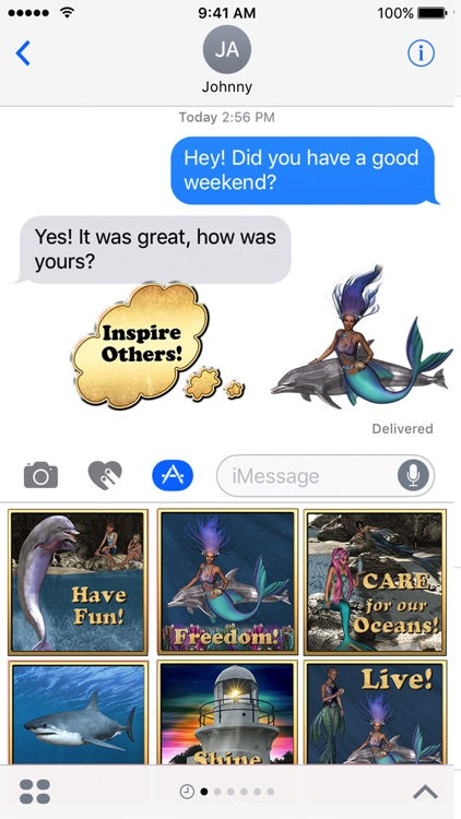 Where's the Dolphin Sticker Pack for iMessage