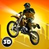 屋顶摩托车特技骑3D