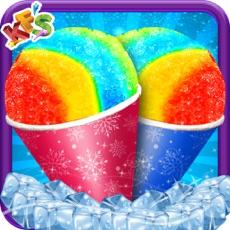 Activities of Snow Cone Maker – Frozen Dessert Cups Cooking
