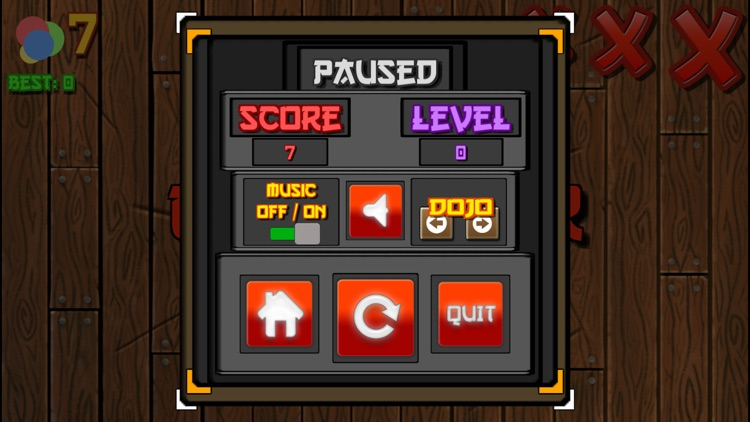 Balls Slicing - arcade ninja game screenshot-3