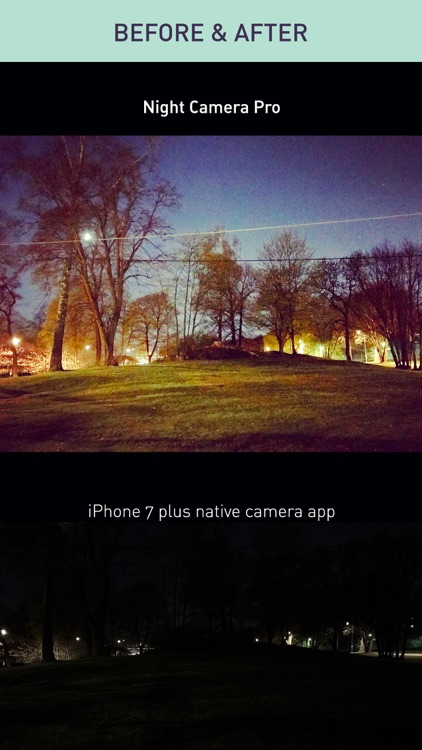 Night Camera Pro — Noise Free Low Light Photo DSLR