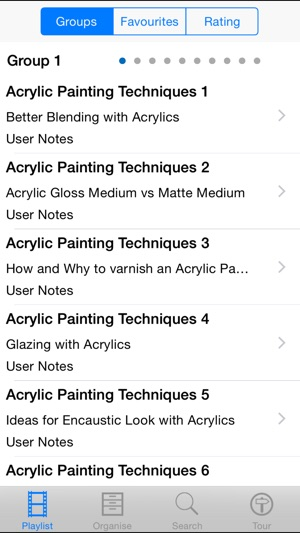 Acrylic Painting Techniques On The App Store