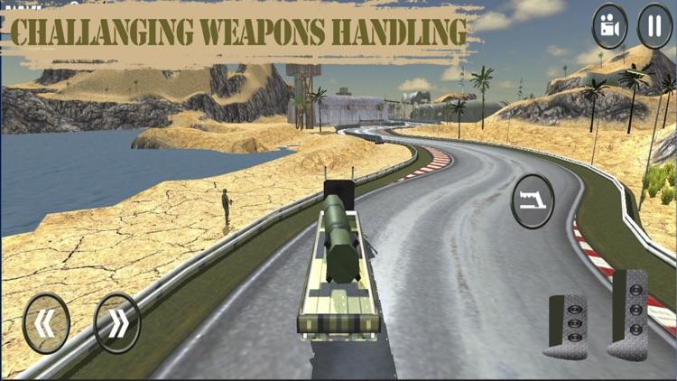 Army War Truck Parking: Battle Field Driver screenshot-3