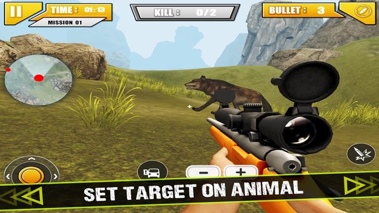 Sniper Hunter: Animal Safari Hunting Game screenshot-3