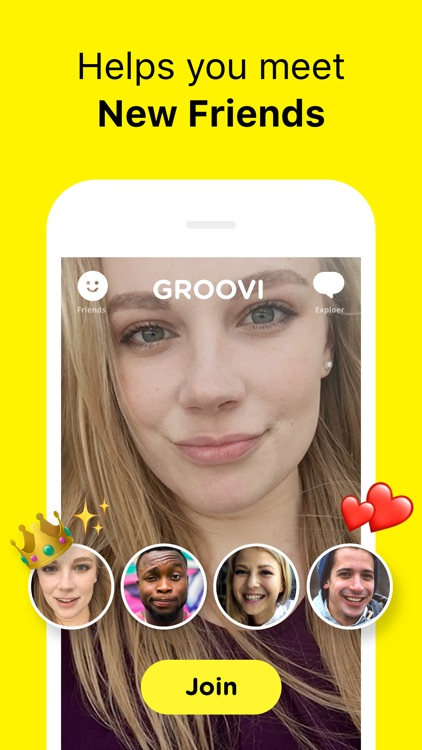 Groovi - Group Video Chat