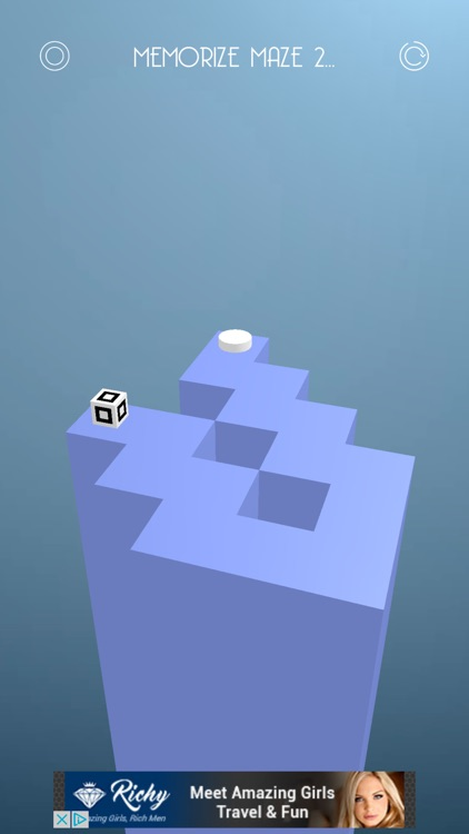 Cubimaze | An impossible memory puzzle game