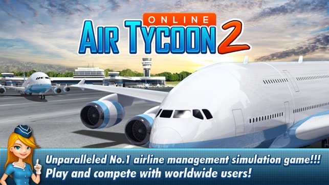 AirTycoon Online 2. Screenshot