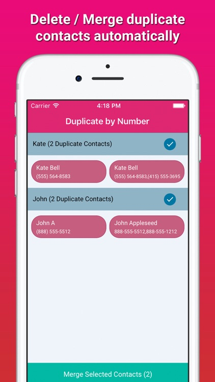 Contact Tools - Delete Duplicate Contacts + Backup