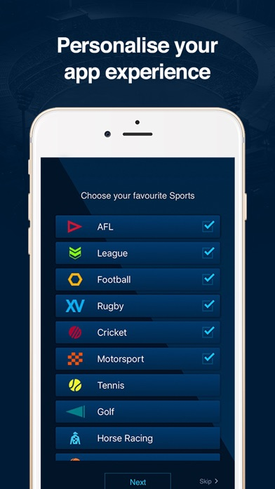 FOX Sports Official App screenshot four