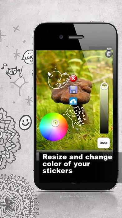 SigNote 手描き写真にアイディア無限大! screenshot1