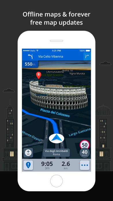 Sygic: GPS Navigation, Maps, Traffic, Gas prices app image