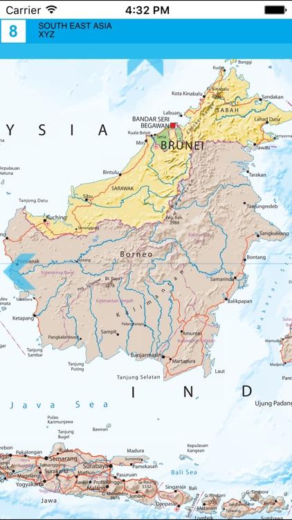 South East Asia. Political map. screenshot-4