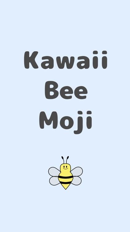Bee Moji Kawaii emoji