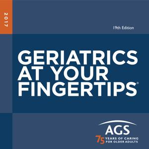 Geriatrics At Your Fingertips app