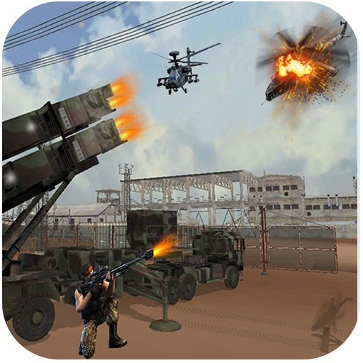 Helicopter Defence Strike - 3d Anti Aircraft Games icon
