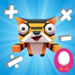 Brainy City Rush: Fun Math Game For Kids