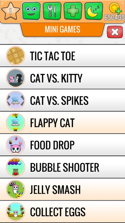 My Talking Cat - Virtual Pet Games For Kids