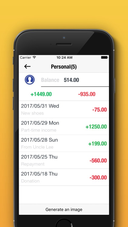 Easy Money Manager - Daily Expense Tracker,Saving. screenshot-4