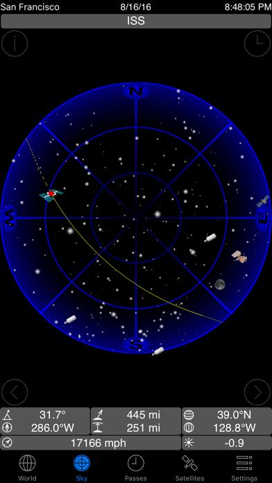 GoSatWatch Satellite Trackingのおすすめ画像2