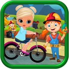 Activities of Kids Princes Bicycle Ride