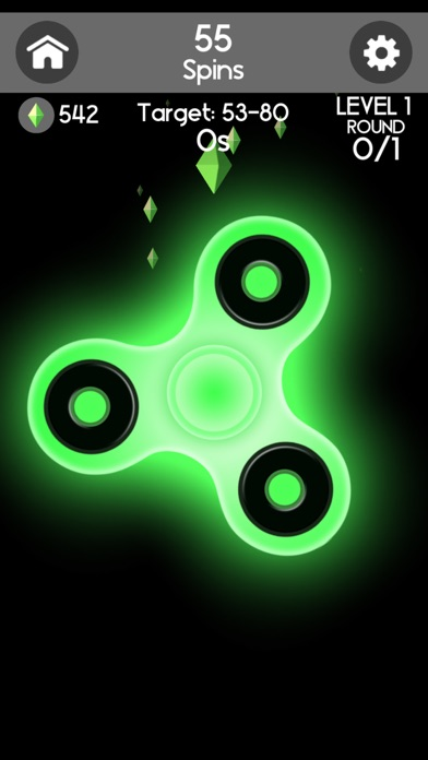 Fidget Spinner Champ Screenshot on iOS