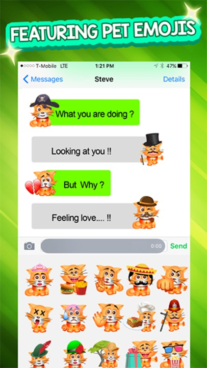 PetMoji - Kitty Emoji & Stickers screenshot-3