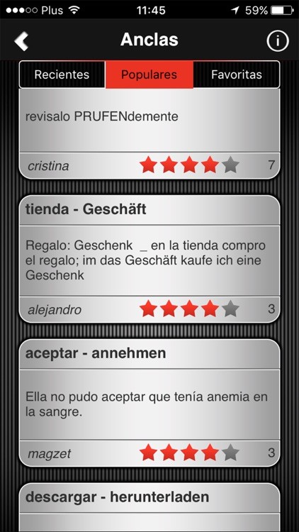 Speeq Spanish|German lite screenshot-4