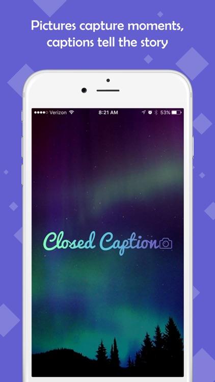 Closed Caption