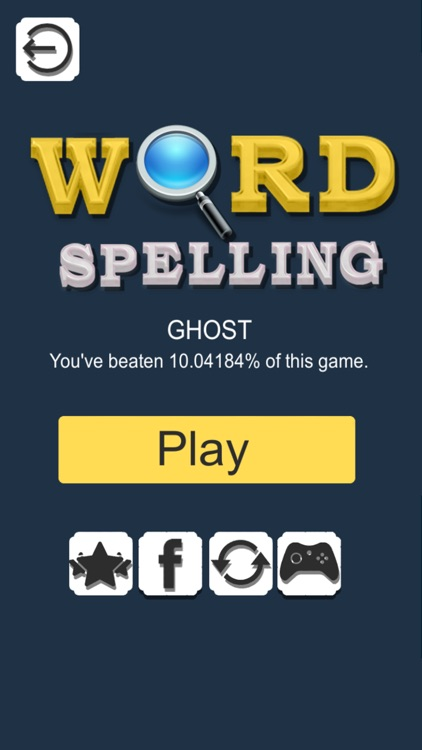 Word Spelling Search