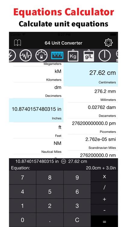 64 Unit Converter screenshot-3