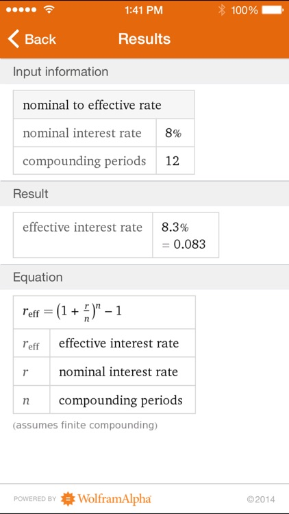 Wolfram Time-Value Computation Reference App