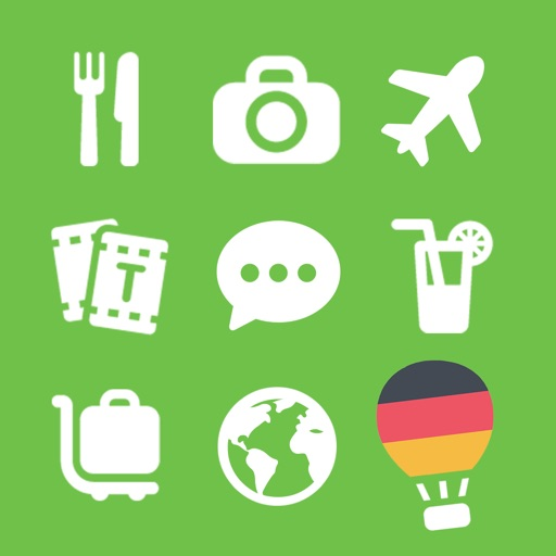 LETS Travel Germany! Talk German Phrase Guide Book