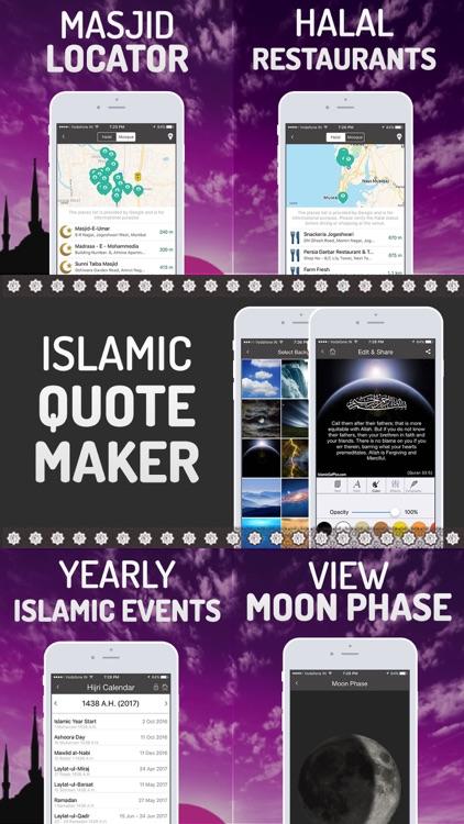 Islamic Calendar+ Prayer time, Athan, Qibla, Quran screenshot-3