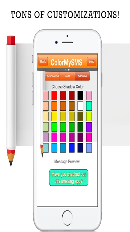 Color My Text - Send & Create Color SMS Messages