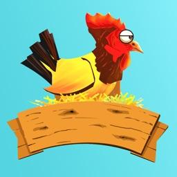 Flappy Hen - A Clone of the Original Bird Game