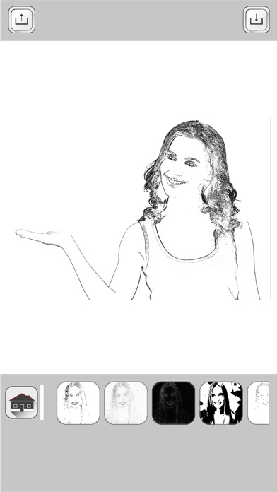 Pencil sketch photo editor effects