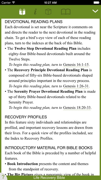 Life Recovery Bible screenshot-0