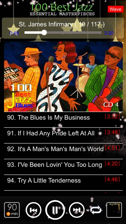 jazz blues music classic 100 screenshot-3