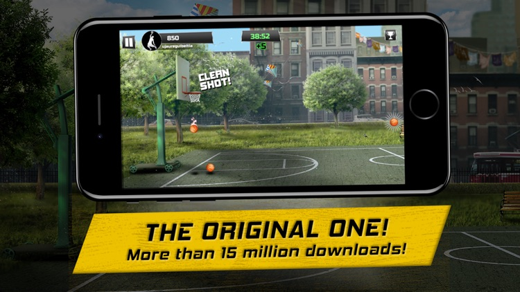 iBasket - Street Basketball screenshot-0