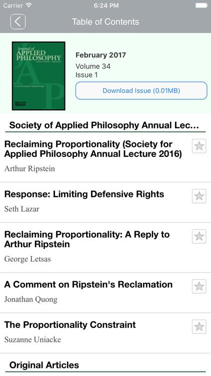Journal of Applied Philosophy screenshot-4