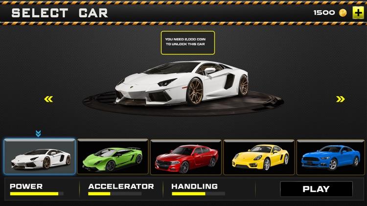 Sports Car Gas Station Parking – Highway Driving screenshot-3