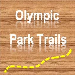Trails of Olympic NP -  GPS Topo Maps for Hiking