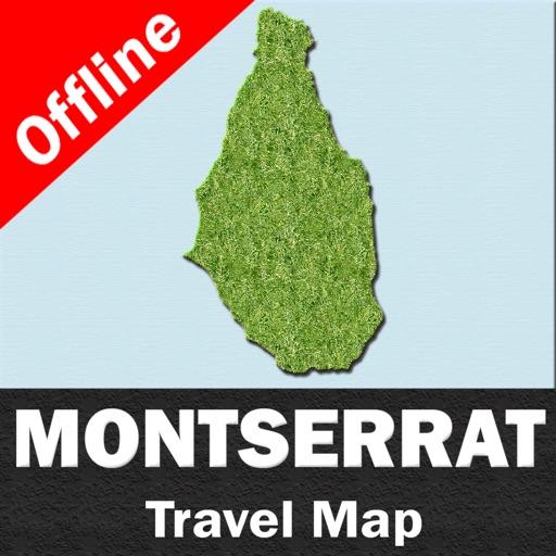 MONTSERRAT – GPS Travel Map Offline Navigator