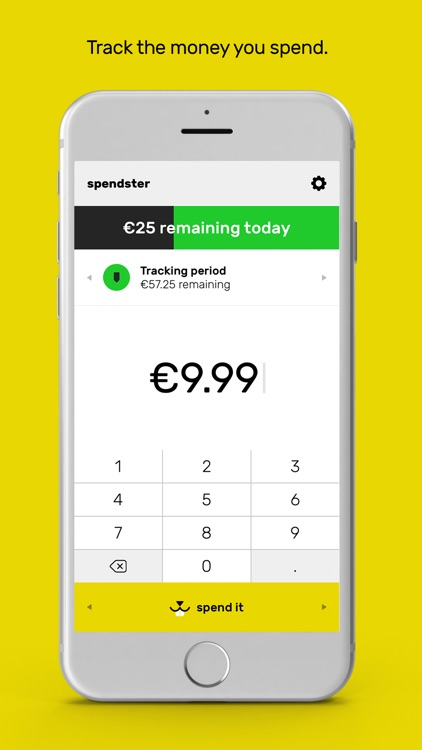 spendster - Keep track of your daily spending