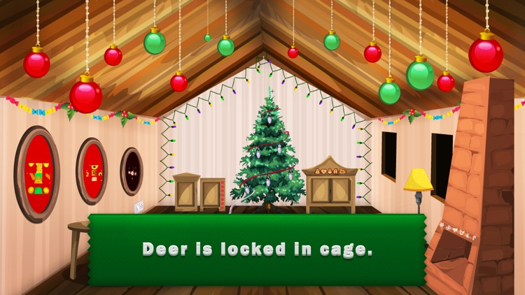 Can You Help Christmas Deer Escape?