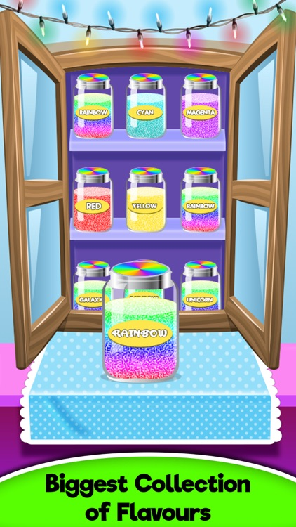 Rainbow Unicorn Glowing Cotton Candy! Fair Food